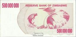 Simbabwe Pick-Nr: 60 Bankfrisch 2008 500 Mio. Dollars - Simbabwe