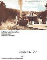 Ticino - Monte Generoso Stazione Bella Vista + TRENO RIPRODUZIONE 1994 (A-L 023) - Cartoline