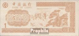 Volksrepublik China Braun Trainingsbanknote Bank Of China Bankfrisch 1 Jin - China