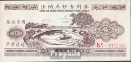 Volksrepublik China Braun Trainingsbanknote Bankfrisch 2003 5 Jin - China