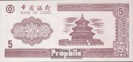 Volksrepublik China Braun Trainingsbanknote Bankfrisch 5 Jin - China