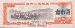 Volksrepublik China Chinesischer Lebensmittelgutschein Bankfrisch 1978 0,1 Jiao Schafherde - China