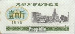 Volksrepublik China Chinesischer Lebensmittelgutschein Bankfrisch 1979 1 Jiao Busse - China
