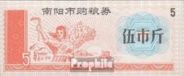 Volksrepublik China Chinesischer Lebensmittelgutschein Bankfrisch 5 Jiao Getreideernte - China