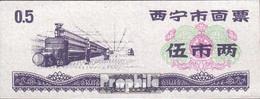 Volksrepublik China Chinesischer Reisgutschein Bankfrisch 1973 0,5 Jin - China
