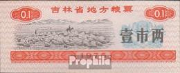 Volksrepublik China Chinesischer Reisgutschein Bankfrisch 1975 0,1 Jin Schafherde - China