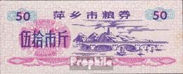 Volksrepublik China Chinesischer Reisgutschein Bankfrisch 1984 50 Jin - China