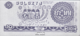 Volksrepublik China Trainingsbanknote Bankfrisch 1998 10 Jin - China