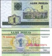 Weißrussland Pick-Nr: 21 Bankfrisch 2000 1 Rubel - Belarus
