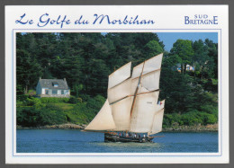 C-P-M- (56 Le Morbihan.) - Le Golfe Du Morbihan - Vieux Gréement Dans Le Golfe. - Autres Communes