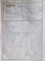 1873 Arctique  CARTE DU CAPITAINE  HALL  ROUTE DU POLARIS  GROENDLAND  Expedition Polaire - Vieux Papiers
