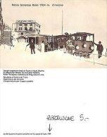 Ticino - Monte Generoso Kulm D'inverno CON TRENO RIPRODUZIONE 1994 (A-L 023) - Cartoline
