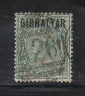 W332 - GIBILTERRA , Vittoria 1/2 Penny  N. 1  Usato - Gibilterra