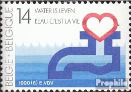 Belgien 2416 (kompl.Ausg.) Postfrisch 1990 Wasser Ist Leben - Ongebruikt