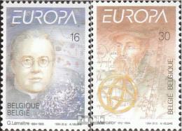 Belgien 2607-2608 (kompl.Ausg.) Postfrisch 1994 Europa - Ungebraucht
