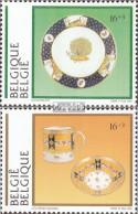 Belgien 2618-2619 (kompl.Ausg.) Postfrisch 1994 Museen - Ungebraucht