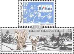 Belgien 2733,2739 (kompl.Ausg.) Postfrisch 1997 FUCAM, Ostkantone - Ungebraucht
