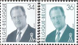 Belgien 2737-2738 (kompl.Ausg.) Postfrisch 1997 König Albert II. - Ungebraucht
