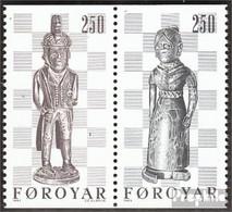 Dänemark - Färöer Mi.-Nr.: W1 (kompl.Ausg.) Postfrisch 1983 Schachfiguren - Féroé (Iles)