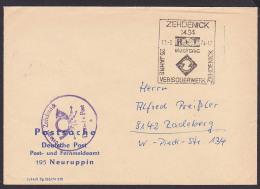 DDR ZEHDENICK  SSt. 25 Jahre VEB Isolierwerk RFT Electronic Postsache Postamt Zehdenick - DDR