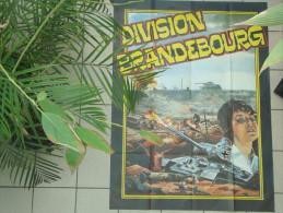 RARE AFFICHE CINEMA PUBLICIT� AUTHENTIQUE DIVISION BRANDEBOURG 117 X 156 CM