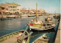 CPSM - 34 - PALAVAS Les FLOTS - Le Canal - Bateaux - HERAULT LANGUEDOC ROUSSILLON - Palavas Les Flots