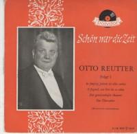 Otto Reutter   : In 50 Jahren .., Oh Jugend...   /  Der Gewissenhafte Maurer, Der Überzieher  - Polydor 21 101 - Disco, Pop