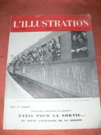 L ILLUSTRATION N° 5193 / 100E ANNEE / DU 19 SEPTEMBRE 1942 / DIEPPE RETOUR DES PRISONNIERS / PARIS VELOS TAXIS FIACRES - Journaux - Quotidiens
