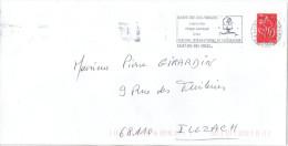 FRANCE Flamme Lettre SAINT-DIE Festival International De Géographie - Poststempel (Briefe)