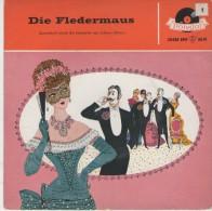 Die Fledermaus :   Operettenquerschnitt Teil 1  /  Teil 2   - Polydor 20 038 - Disco, Pop