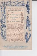 TB  CPA 1906  :  CABINET A RIRE ( Partie Centrale A Soulever Et Miroir En Fond De Cp ) - Humour