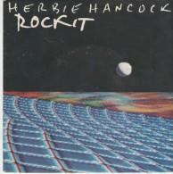 Herbie Hancock  :  Rockit (short Version)  /  Rockit (long Version)    - CBS Records 3577 - Disco, Pop