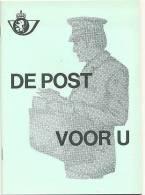(B014) De Post Voor U - Autres Livres