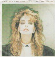 Sandra   : In The Heat Of The Night  / Heatwave (instrumental) - Virgin 107 760 - Disco, Pop