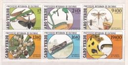 1988 Cape Verde , Cabo Verde - Plants Protection 6v., Agriculture, Insects, Plague, Scott 518/23 MNH - Landbouw