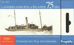 Island 973MH (kompl.Ausg.) Postfrisch 2001 Küstenwache - 1944-... Republik