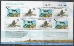 URUGUAY , 2014 , MNH, SEA LIONS, SEALS, SHEETLET OF 8v - Zeezoogdieren