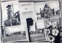 Souvenir De Charleroi - Formato Grande Viaggiata Mancante Di Affrancatura - Charleroi