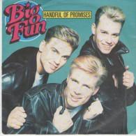 Big Fun  : Handful Of Promisis   / Catch A Broken Heart  - Jive Records 43589 - Disco, Pop