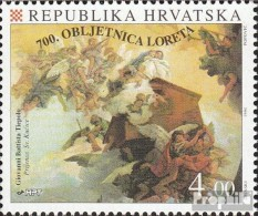 Kroatien 305 (kompl.Ausg.) Postfrisch 1994 Wallfahrtsstätte Loreto - Kroatien