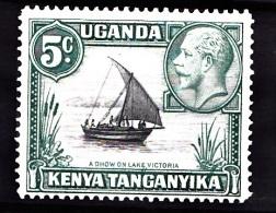 KUT, 1935, SG  111, MNH (Perf: 14) - Kenya, Uganda & Tanganyika