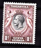 KUT, 1935, SG  110, MNH - Kenya, Uganda & Tanganyika