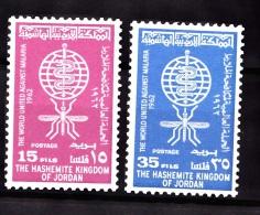 Jordan, 1962, SG  507 - 508, Mint Hinged - Jordan