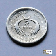 Colombia - Bogota - 5 Centavos - 1882 - Colombia
