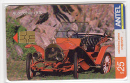 URUGUAY  TELECARTE ANTEL Année 2004 VOITURE HUPMOBILE 1906 - Uruguay