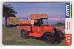 URUGUAY  TELECARTE ANTEL 100 $ Année 2004 VOITURE FORD T 1927 - Uruguay