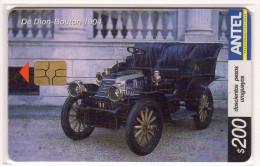 URUGUAY  TELECARTE ANTEL 200 $ Année 2004 VOITURE DE DION BOUTON 1904 - Uruguay