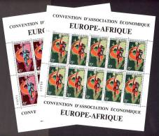 Dahomey 1970, Europe-Afrique - Mercury **, MNH, 2 Minisheets - Bénin – Dahomey (1960-...)