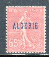 ALGERIE - N° 25 ** Variété Papier Nid D'abeille - Argelia (1924-1962)