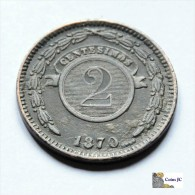 Paraguay - 2 Centesimos - 1870 - Paraguay